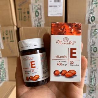 Vitamin E Đỏ Nga 400mg giúp trắng da chống lão hoá thumbnail