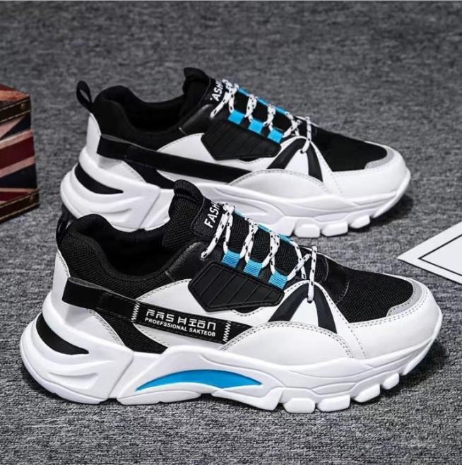 Giày Thể Thao Nam Sneaker Tăng 5Cm Chiều Cao, Đế Tổng Hợp Độ Bền Cao, Kiểu Dáng Cá Tính Cực Ngầu, Xu Hướng 2020 AVISHOP- 344 giá rẻ