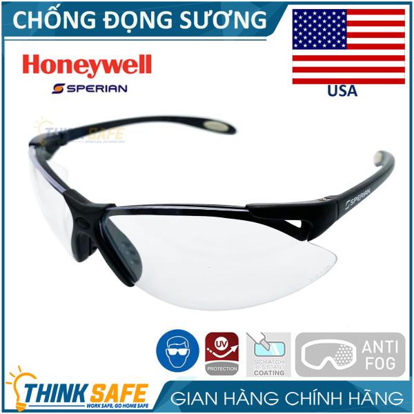 Kính bảo hộ Honeywell A900 cực nhẹ, chống bụi, chống trầy xước (trắng trong)