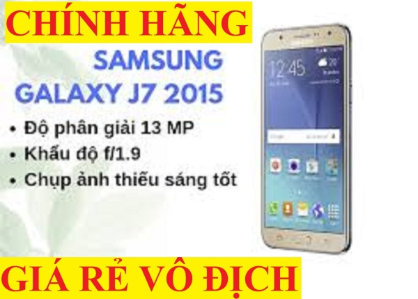 [SMARTPHONE GIÁ RẺ] điện thoại Samsung Galaxy J7 2sim 16G mới CHÍNH HÃNG - bảo hành 12 tháng, chơi Zalo Tiktok Youtube