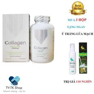 Bộ 3 Hộp Viên Uống Dưỡng Da Collagen +AEC B5 12000MG USA + Tặng Kèm 1 Hộp Ủ Trắng Tinh Chất Lúa Mạch thumbnail