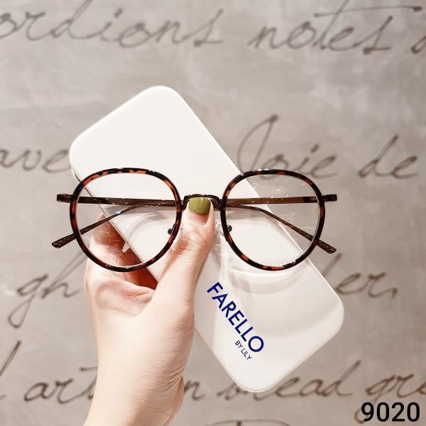 Mua Gọng kính cận mắt tròn kim loại thời trang nam nữ Lilyeyewear 9020 nhiều màu
