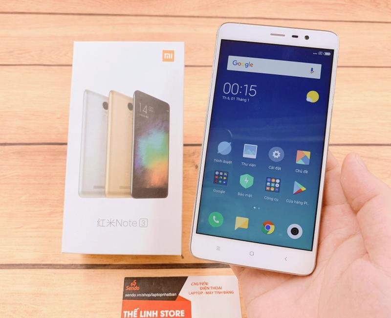 ĐIện thoại Xiaomi Redmi Note 3 Pro 2 Sim FULLBOX - Snap 650 Tặng Ốp
