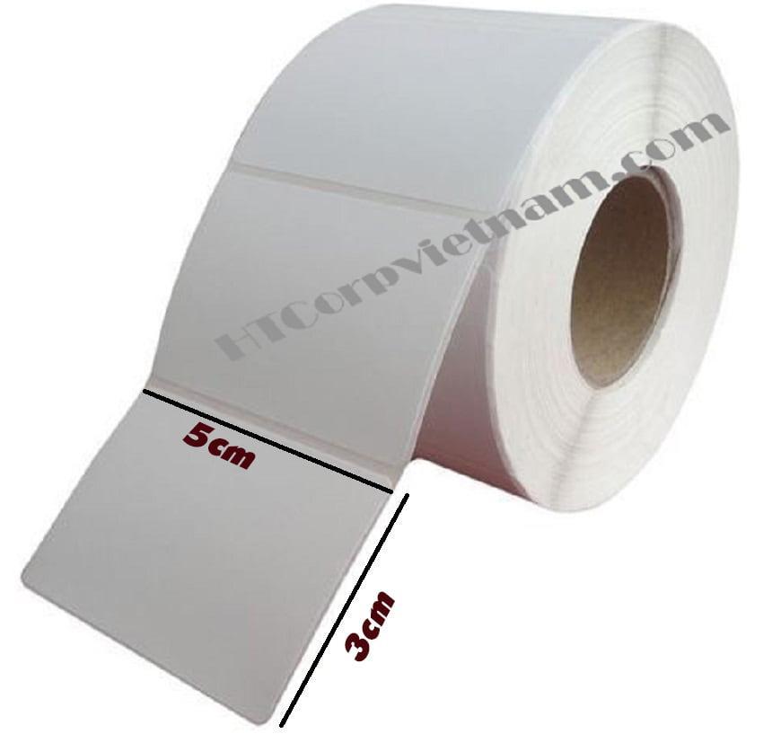 Mua Giấy in mã vạch 50x30mm (1000 tem)
