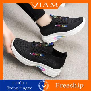 Giày Thể Thao Nữ Đẹp Siêu Nhẹ Thoáng Khí Thời Trang Mới Nhất VIAM ES109 thumbnail