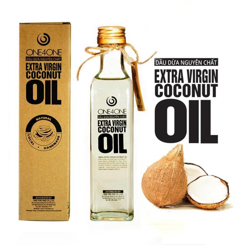 Dầu Dừa Nguyên Chất One4One 250ml - Extra Virgin Coconut Oil