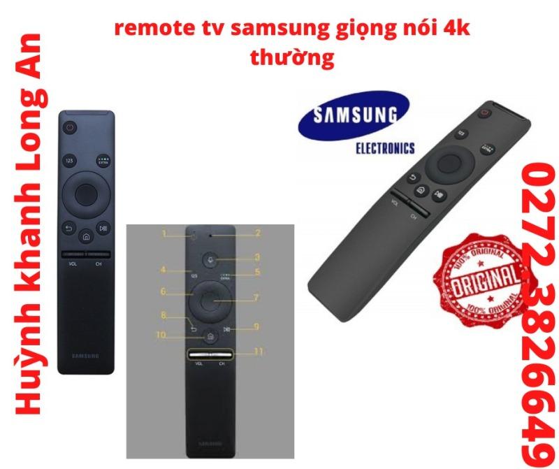 Bảng giá REMOTE TV GIỌNG NÓI SAMSUNG THƯỜNG