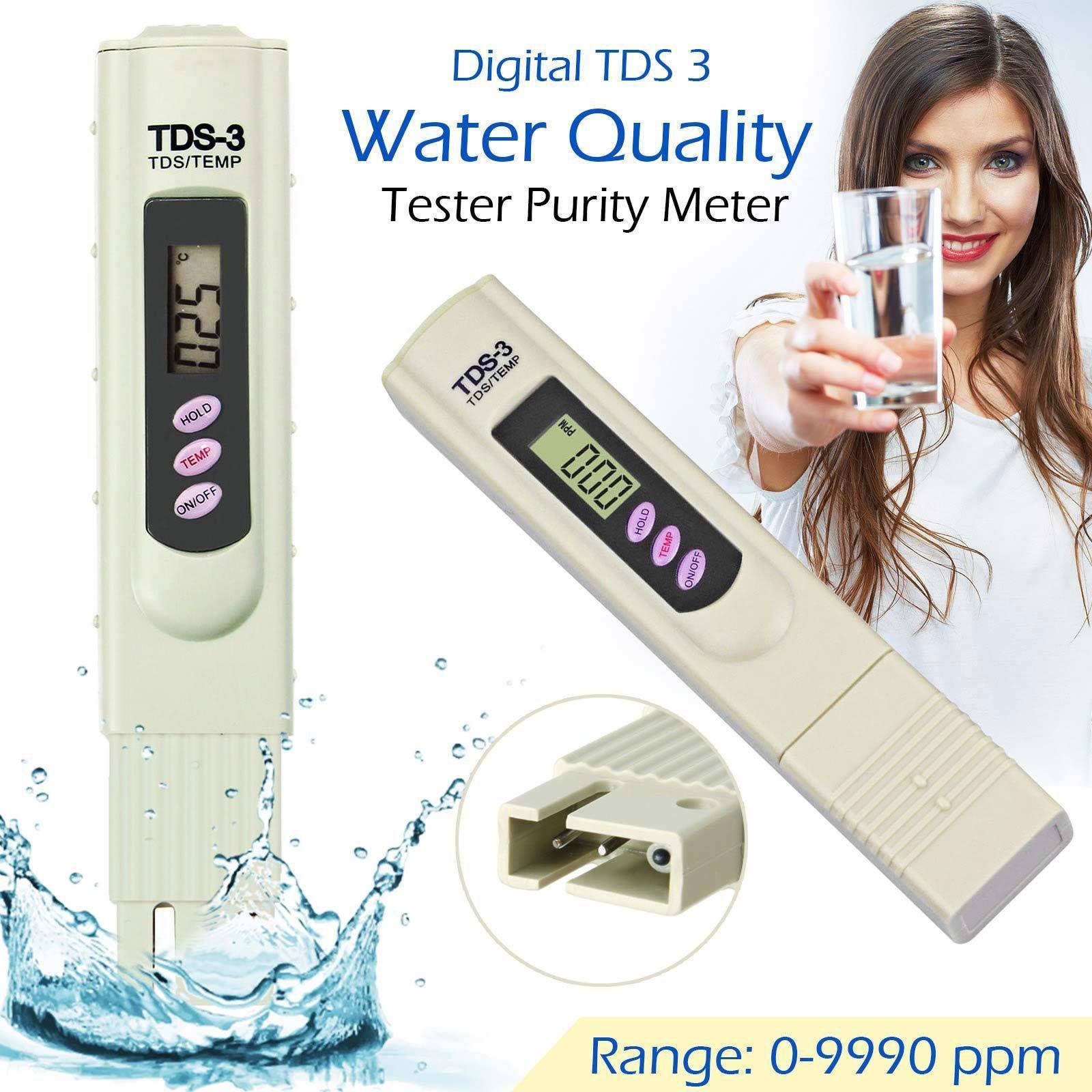 Thiết bị kiểm tra chất lượng nước, bút đo độ tinh khiết của nước, bút đo ph nước, cách sử dụng bút thử nước, Bút thử nước TDS-3 có độ chính xác cao, tiết kiệm thời gian, an toàn. Bảo hành 1 đổi 1