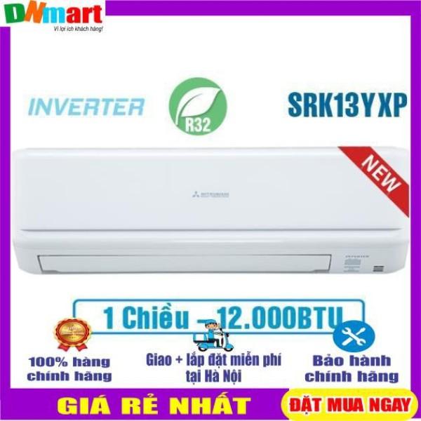 Bảng giá [Trả góp 0%]Điều hòa Mitsubishi heavy SRK/SRC13YXP-W5 Inverter 1 chiều 12000BTU R32 {VẬN CHUYỂN MIỄN PHÍ + LẮP ĐẶT TẠI HÀ NỘI}