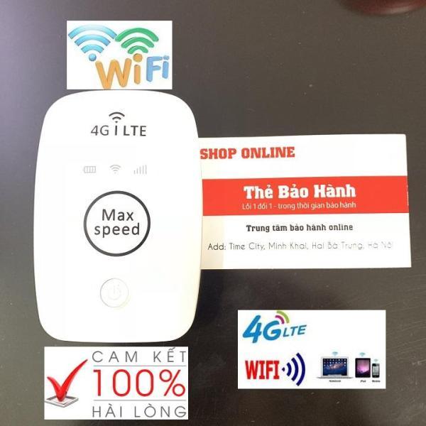 Bảng giá Thiết Bị Phát Sóng Wifi Di Động Cầm Tay Mini - Phát sóng wifi 4G LTE 150 Mbps- Pin 2100 cực Mạnh- Cục wi-fi Max Speed Tốc độ Đỉnh Cao Phong Vũ