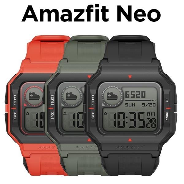 Đồng hồ thông minh Xiaomi Amazfit NEO - Hàng Chính Hãng - Bảo hành 12 Tháng - Kháng Nước Lên Đến 50m - Pin Kéo Dài Lên Đến 28 Ngày - 12 chế độ tập luyện