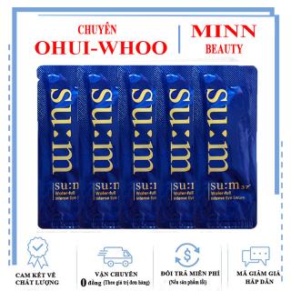 Combo 5 Gói Sample Tinh Chất Cấp Ẩm Cho Vùng Mắt Su m37 Water-full Intense Eye Serum Sum37 1ml x5 thumbnail