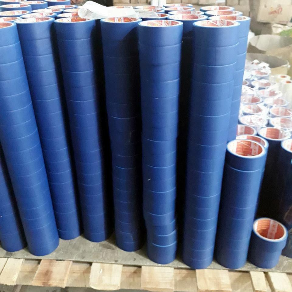 Mua 8 cuộn băng keo xanh / băng keo dán gáy 6.6 m/ cuộn
