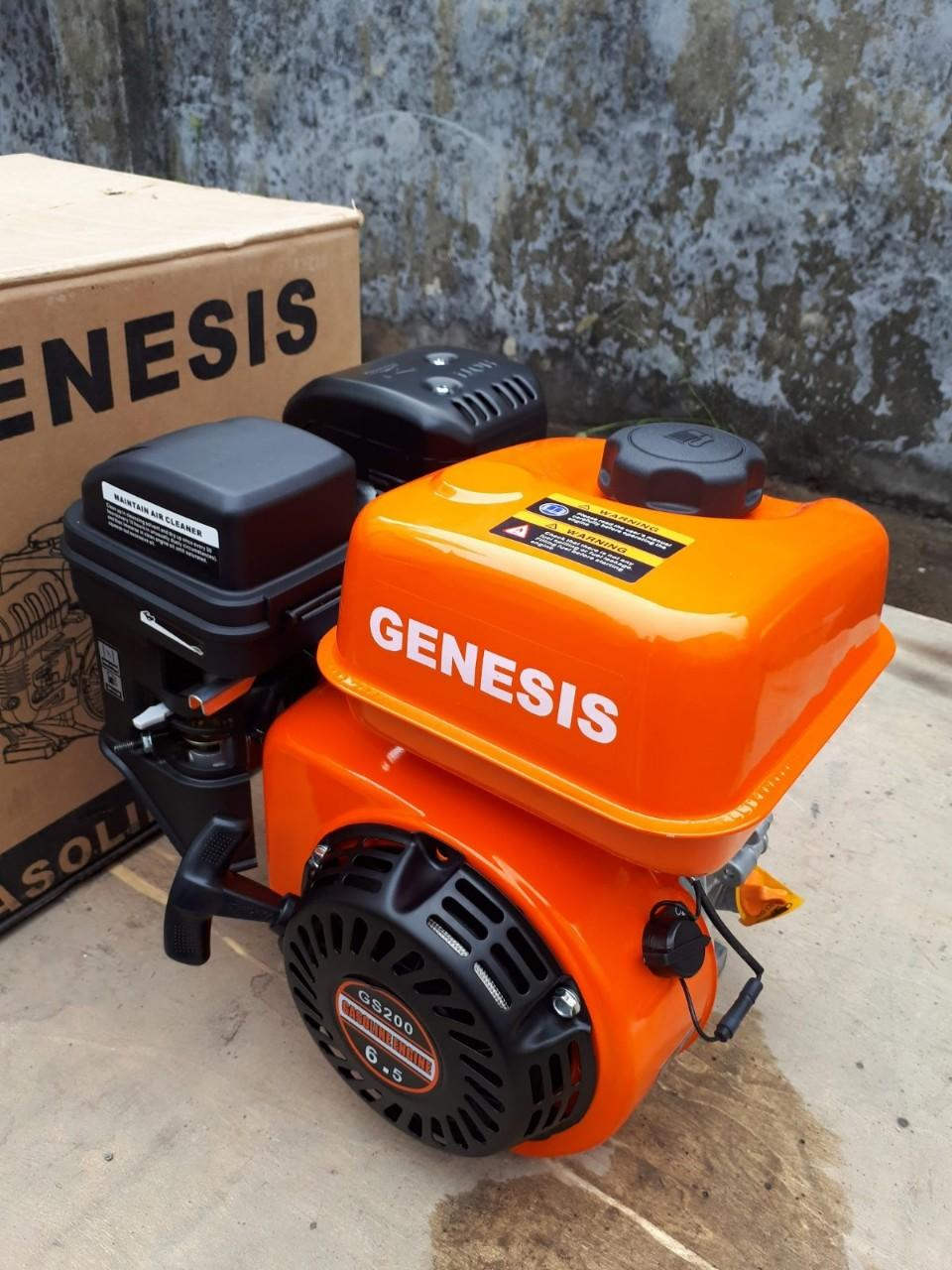 Động Cơ Nổ Xăng Genesis 6.5HP GS200