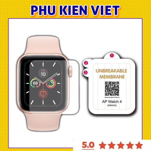 [HCM]Miếng Dán dẻo Apple watch PPF full màn tự phục hồi trầy xước cho Series 6/5/4/3/2/1 (38mm/40mm/42mm/44mm)