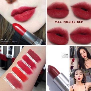 MAC- Matte Lipstick Mini Size + Retro Matte Lipstick - Son Lì thumbnail
