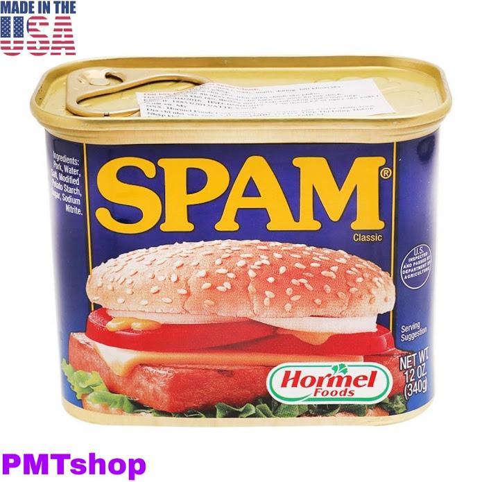 Offer Ưu Đãi [USA] Thịt Hộp Hormel Spam Classic 340g - Mỹ