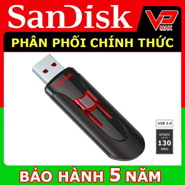 Bảng giá USB 32GB 16GB Sandisk 3.0 Cruzer Glide CZ600 dạng trượt BH 5 năm - vpmax Phong Vũ