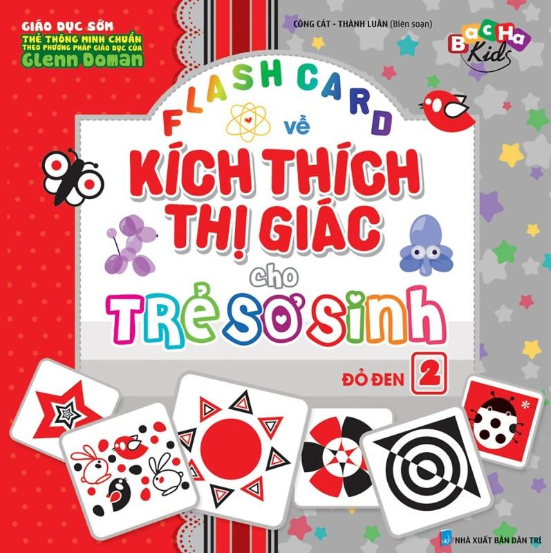 Mua Flashcard Dạy Trẻ Theo Phương Pháp Glenn Doman - Kích Thích Thị Giác Cho Trẻ Sơ Sinh 2 - Đỏ Đen