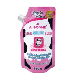 Lẻ 1 gói Muối tắm sữa bò tẩy da chết cực mịn da A Bonne Spa Milk Salt 350gr - Chuẩn Thái thumbnail