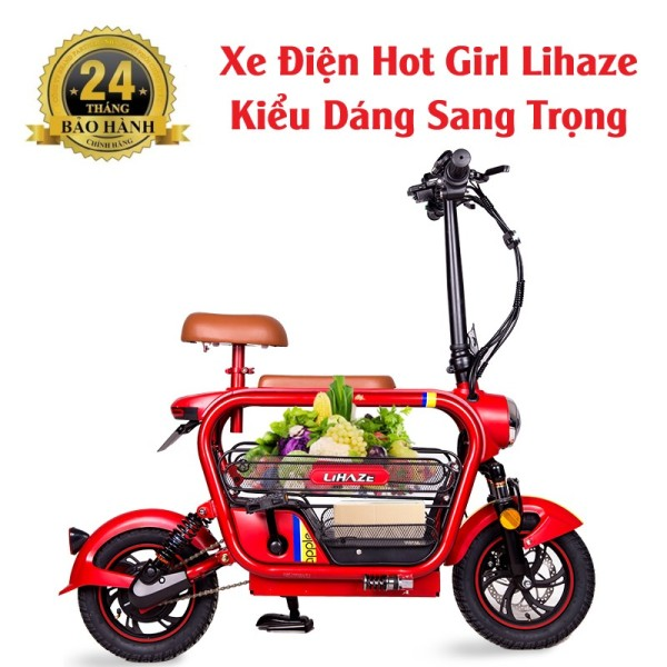 Mua Xe Điện Mini Hot Girl Lihaze (Pin Lithium 48v-15A)