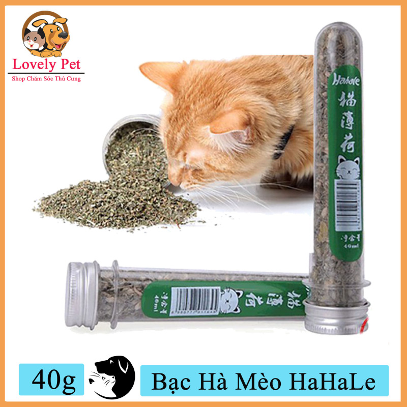 (Xả kho 3 ngày) [Mã WA090 giảm 49k đơn 315k] Lovely Pet - Bạc Hà Mèo HaHaLe (40g)