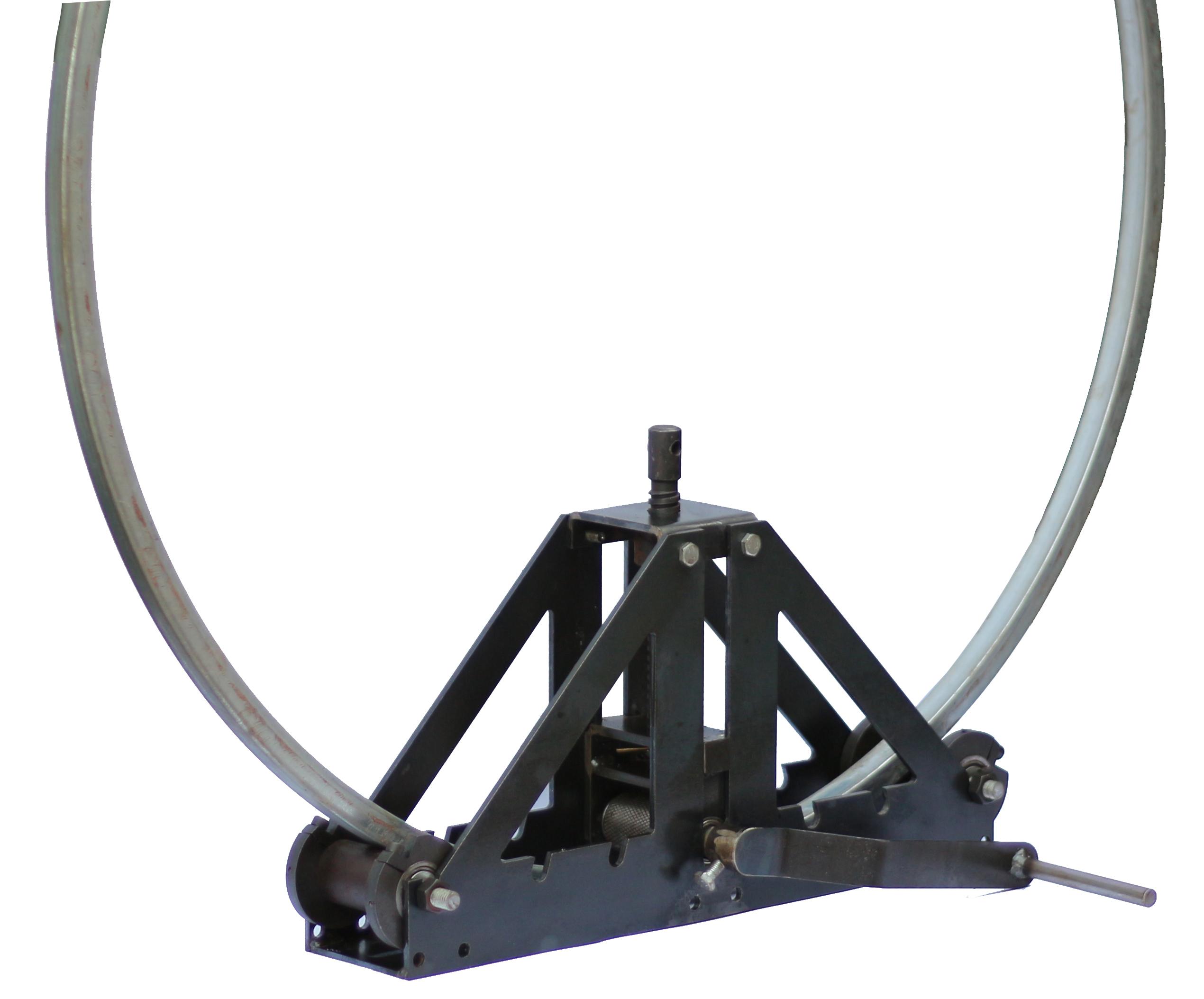 Máy uốn sắt hộp mini - MDU120-20. Dùng uốn sắt hộp từ 30x60 trở xuống, sắt đặc từ vuông 16, phi 16 trở xuống