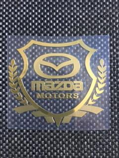 Bộ 2 Logo Decal 3D dán xe ô tô (mazda) thumbnail
