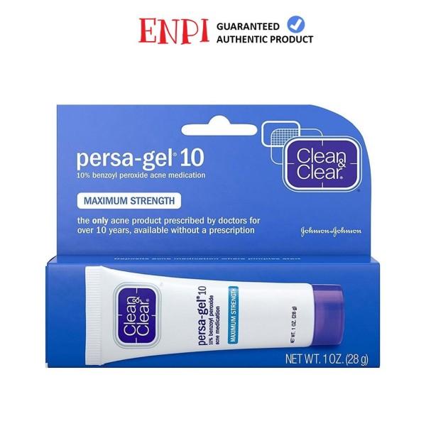 Chấm mụn Clean & Clear Persa-Gel 10 Maximum Strength