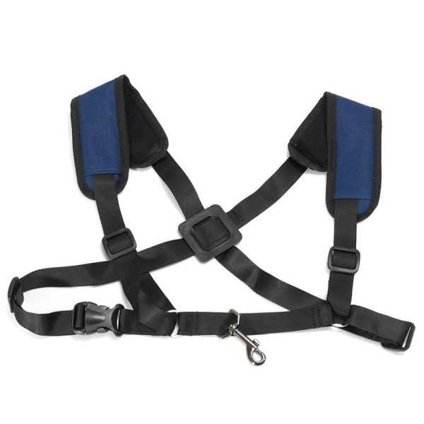 Adjustable Soft Sax Harness Shoulder Pad Strap Saxophone For Alto Malaysia