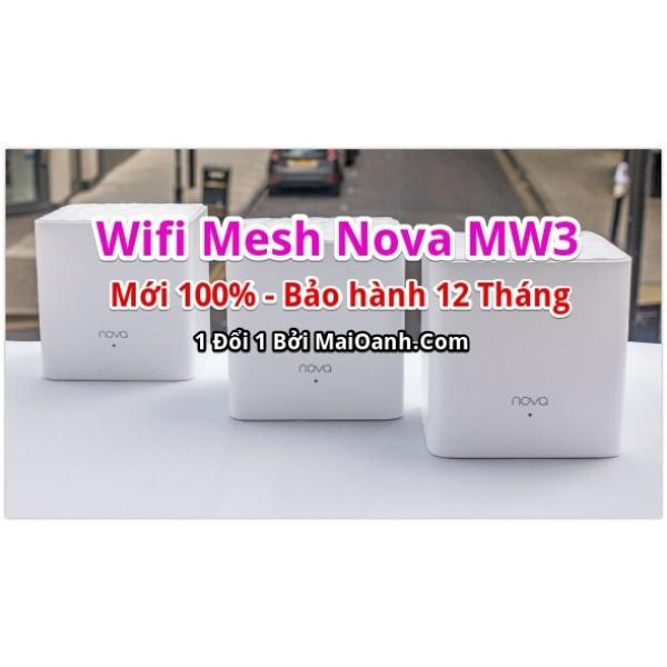 Bảng giá Bộ 3 Cục Wifi Mesh Tenda Nova MW3 - New 100 Phong Vũ