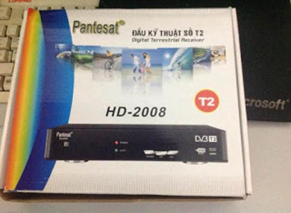 Bảng giá Đầu kỹ thuật số DVB-T2 Pantesat HD-2008
