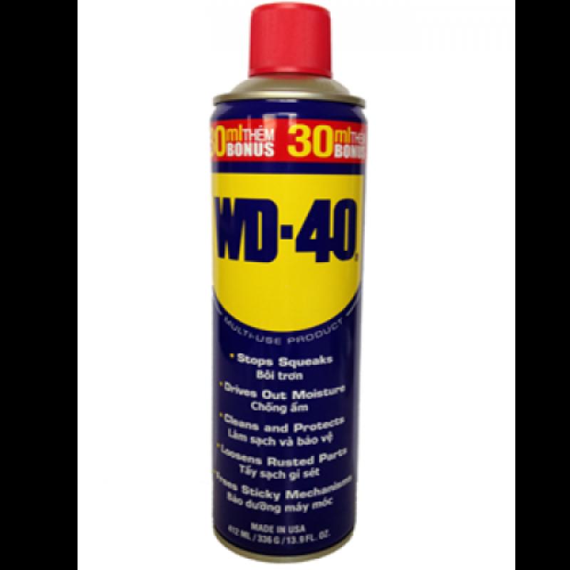 [Hàng chính hãng] Combo 12 chai Dầu chống gỉ đa năng WD40 - 412ml