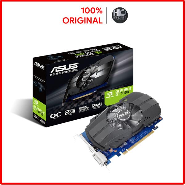 Bảng giá [HCM]Card màn hình ASUS PH-GT1030-O2G (2GB GDDR5 64-bit DVI+HDMI) -Hàng Chính Hãng Phong Vũ