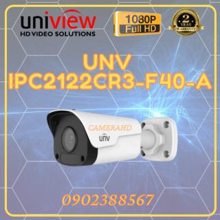 Camera IP hồng ngoại 2.0 Megapixel UNV IPC2122CR3-F40-A thumbnail