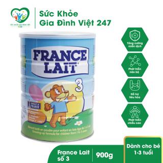 Sữa bột France Lait số 3 900g cho trẻ 1-3 tuổi (Date mới nhất) thumbnail