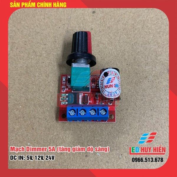 Bảng giá Mạch điều khiển độ sáng Led 5A (Mạch led dimmer 5A điện áp 5V, 12V, 24V)