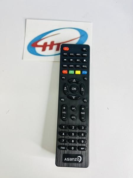 Bảng giá Remote Tivi Asanzo nhỏ (4 nút màu ở giữa)