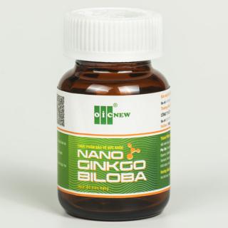 Nano Ginkgo Biloba - Hỗ trợ tăng tuần hoàn máu não, giảm các triệu chứng sau tai biến thumbnail
