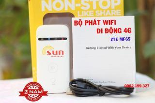 Bộ Phát Wifi Từ Sim 3G 4G ZTE Phủ Sóng Cực Mạnh Dùng Cho Tất Cả Các Mạng - Tặng Siêu Sim 4G 120GB thumbnail