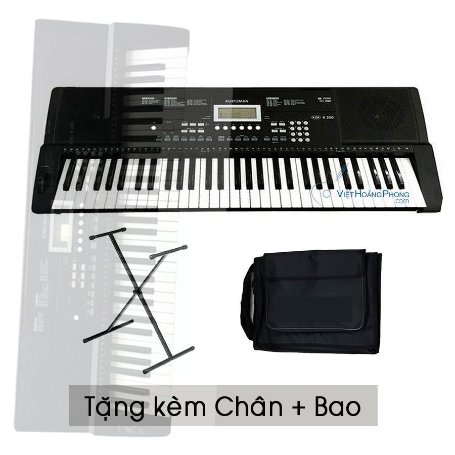 Đàn Organ Kurtzman K200 - Tặng Kèm Chân Bao - HappyLive Shop