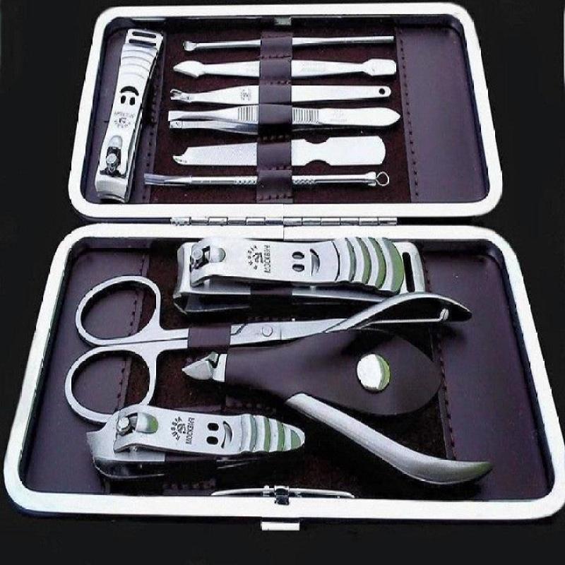 Bộ bấm móng tay 12 món tiện dụng, bấm móng tay, kềm cắt móng tay, kìm cắt móng tay, cách cầm kềm cắt da, chăm sóc móng tay