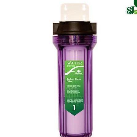 Bộ lọc nước sinh hoạt -bộ lọc thô đầu nguồn ly đơn 10 Inch Chuẩn