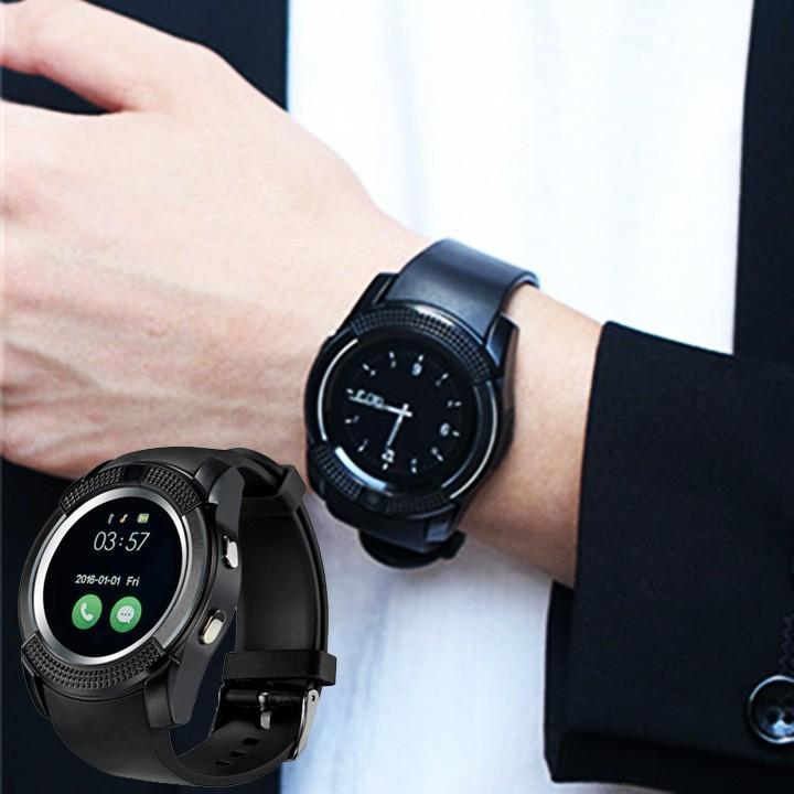 Giá Đồng hồ thông minh giá rẻ - Đồng hồ thông minh Smart Watch V8 Cao cấp, Đồng hồ thông minh trẻ em, Đồng hồ thông minh có wifi, Đồng hồ thông minh giá rẻ - Vòng tay thông minh
