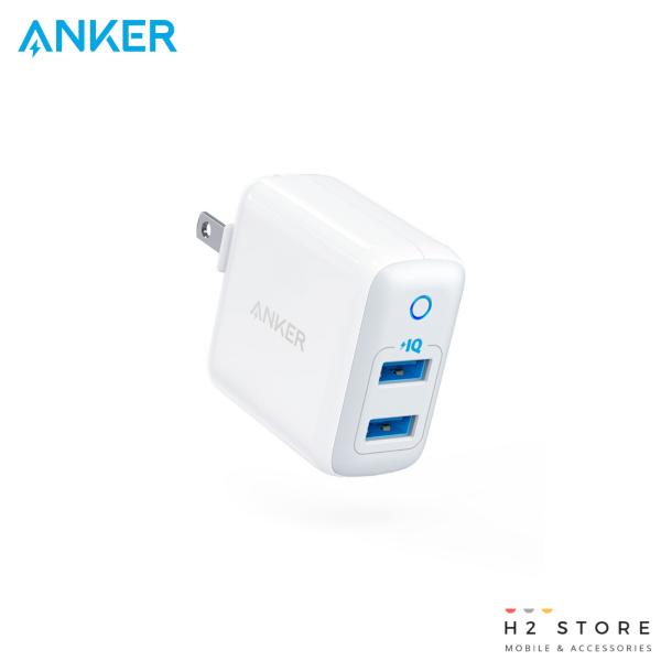 Sạc Anker 2 Cổng PowerPort II, 24w - A2027