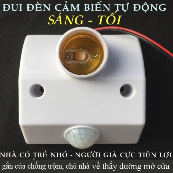 Đuôi đèn cảm ứng phát sáng khi có người Chống trộm (BH 12 Tháng)