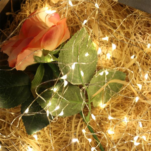 Bảng giá (Kèm pin CR2032) Đèn led đom đóm Fairy Light trang trí nhiều màu sắc