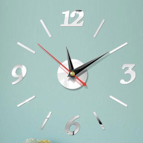 Nơi bán Đồng hồ dán tường 40cm x 40cm - 3 màu - đồng hồ treo tường - Dh06