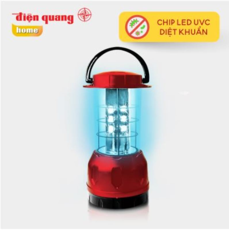 Đèn Led diệt khuẩn Điện Quang PRL01 06UVC ( 6W, tia UVC, để bàn, an toàn, tiện lợi )