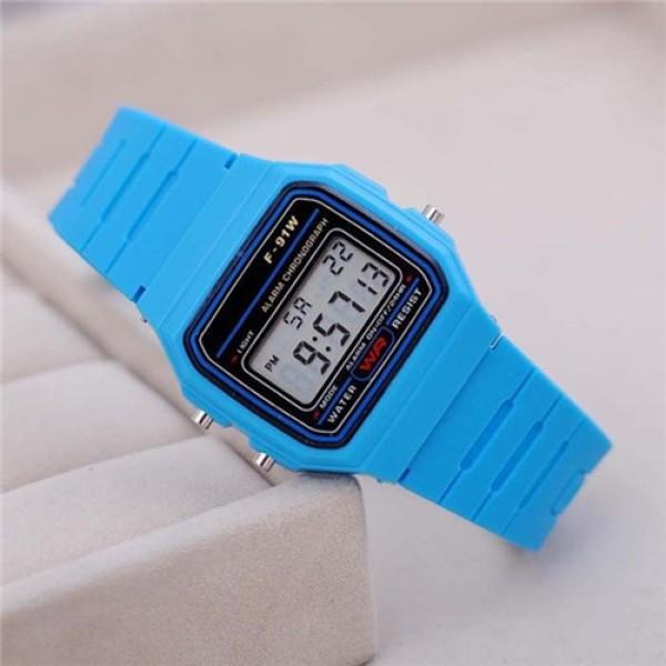 Nơi bán Đồng hồ đeo tay F-91W huyền thoại, cao cấp, Đồng hồ điện tử, Đông hồ thể thao, Đồng hồ trẻ em nhiều màu